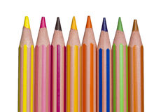 Pencil crayons Royalty Free Stock Image