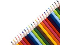 Pencil diagonal Stock Photography