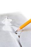 Pencil drawing Royalty Free Stock Photos