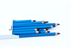 Pencil drawing EE Royalty Free Stock Images