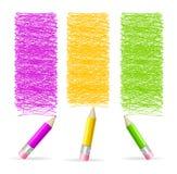 Pencil Drawing Header. Vector Stock Photography