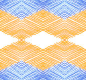 Pencil drawing pattern Royalty Free Stock Photography
