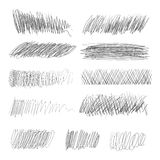 Pencil drawing. Vector illustration Royalty Free Stock Photography
