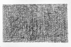 Pencil drawings texture. Pencil drawings on white paper royalty free stock photos
