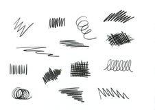 Pencil drawings royalty free stock photo
