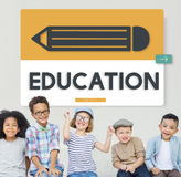 Pencil Education Study Academics Learning Graphic Concept. Pencil Education Study Academics Graphic Concept Royalty Free Stock Image