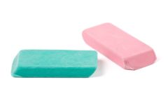 Pencil eraser Stock Photography