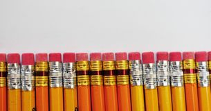 Pencil erasers Stock Photography