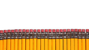 Pencil fence Stock Image