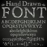 Pencil font Stock Photography