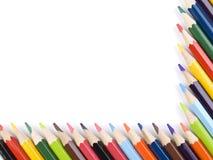 Pencil frame Royalty Free Stock Photo