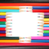 Pencil frame Stock Photos