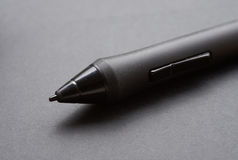 Pencil graphics for tablet and holder for it Stock Images