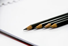 Pencil Group Royalty Free Stock Image