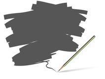 Pencil grunge vector Stock Photos