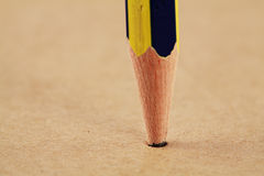 Pencil Head Close Up Royalty Free Stock Photography