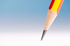 Pencil Head Close Up Stock Photos