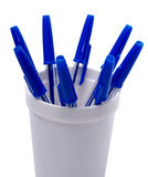 Pencil holder Royalty Free Stock Photography