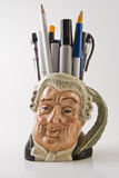 Pencil Holder Royalty Free Stock Image