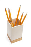 Pencil Holder Royalty Free Stock Photo