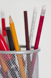 Pencil holder Stock Images