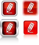 Pencil  icons. Stock Photos