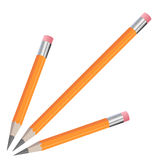 Pencil isolated illustration Stock Photography