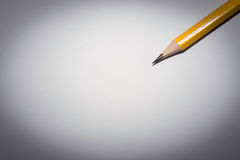 Pencil isolated on pure white background Stock Photography
