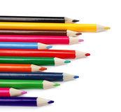 Pencil isolated on white background Royalty Free Stock Images