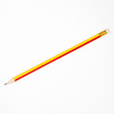 Pencil isolated on white Royalty Free Stock Images
