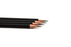 Pencil isolated on white background Stock Photography