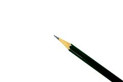Pencil. Isolated on white background Royalty Free Stock Photography