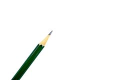 Pencil. Isolated on white background Royalty Free Stock Images