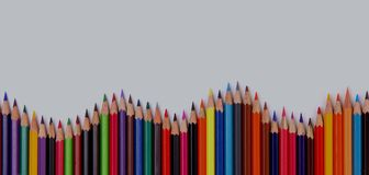 Pencil isolated on white Royalty Free Stock Photos