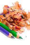 Pencil & knife-sharpener Stock Photo