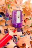 Pencil & knife-sharpener Stock Images