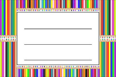Pencil label vector Stock Image