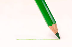 Pencil with line Royalty Free Stock Photos