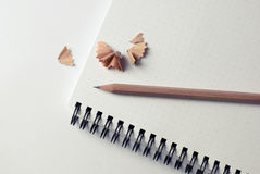 Pencil Notes Notebook Stock Images