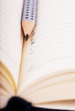 Pencil and organizer Royalty Free Stock Photos