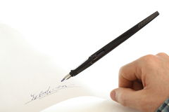 Pencil and paper Royalty Free Stock Photography