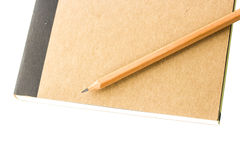 Pencil and paper Stock Photography