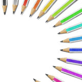 Pencil paper craft Stock Image