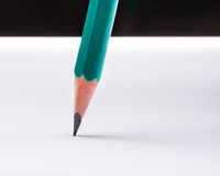 Pencil on paper Royalty Free Stock Photography