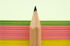 Pencil and papers Stock Photos