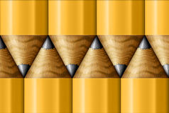 Pencil Pattern Royalty Free Stock Image