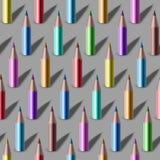 Pencil pattern Royalty Free Stock Image