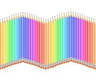 Pencil pattern seamless Royalty Free Stock Photo