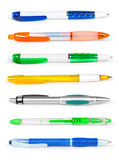 Pencil and pen collection Royalty Free Stock Photography