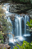 Pencil Pine Falls, Cradle Mountain Stock Photo